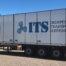 ITS trailer för europa transport