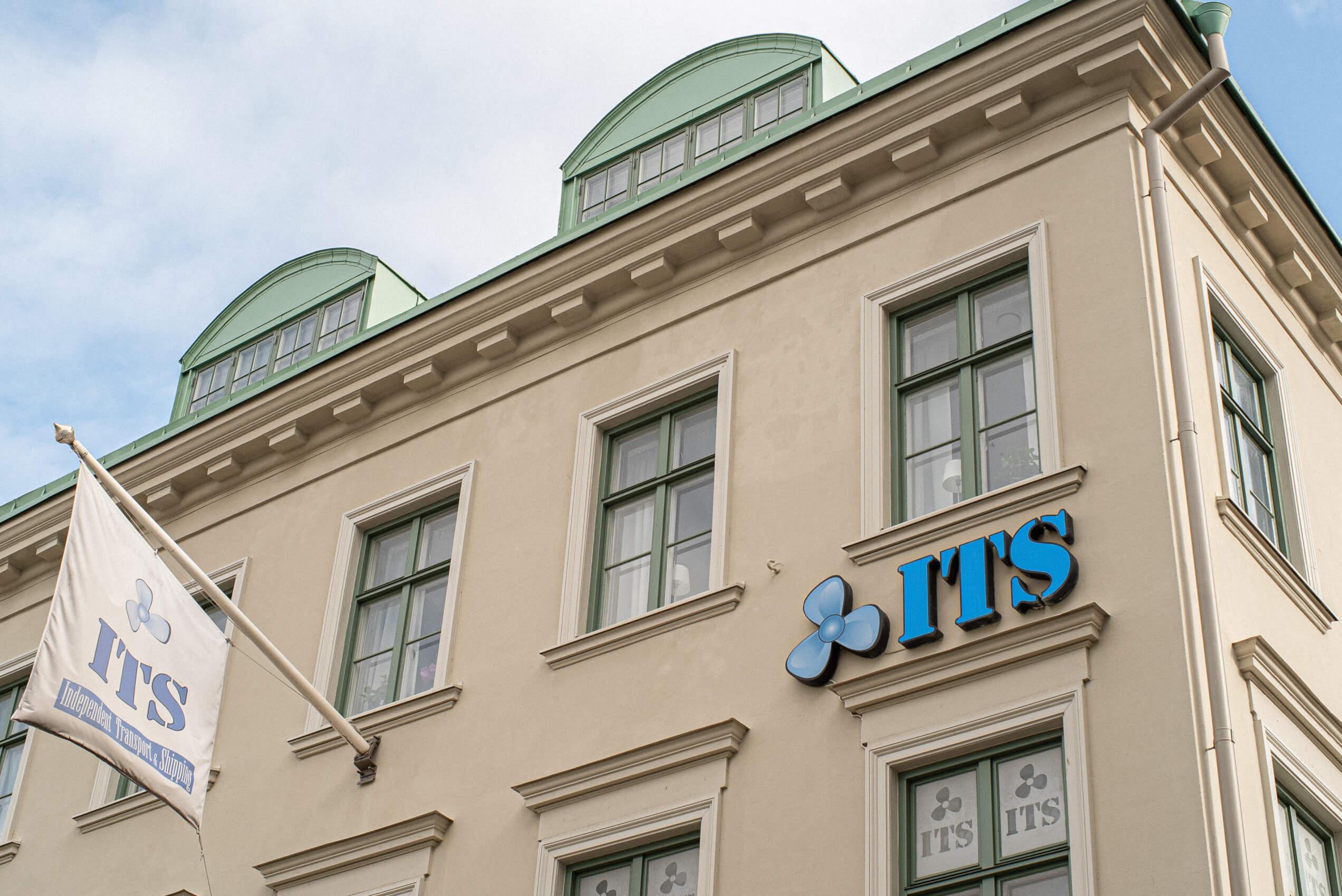 bild på its fasad